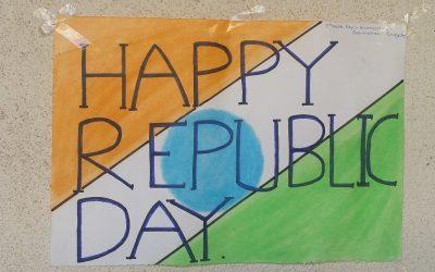 Republic Day Celebration – 26 January 2018